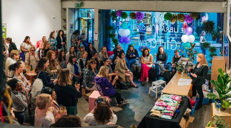 GirlCrew Entrepreneurs event